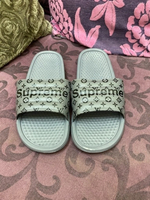 Used Supreme LV slipper in Dubai, UAE
