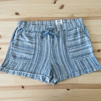 Used Linen women's shorts relaxed fit natural in Dubai, UAE
