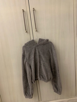 Used Fluffy hoodie size XL negotiable  in Dubai, UAE