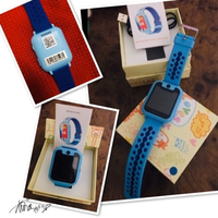 Used Kids Smart watch phone blue 💙 in Dubai, UAE