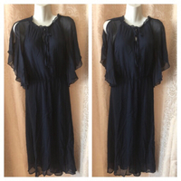 Used Blue dress size XL SE'MIU  in Dubai, UAE