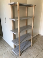 Used Metal and Wooden Shelf in Dubai, UAE