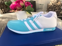 Used ADDIDAS LADIES SHOES LIGHT BLUE  in Dubai, UAE