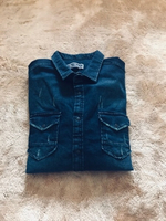 Used Jeans Shirt in Dubai, UAE