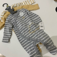 Used 3 x Mothercare newborn sleepsuit pajamas in Dubai, UAE