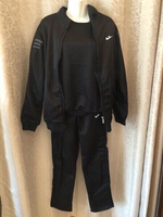 Used Tracksuit 3 pcs black size XL in Dubai, UAE