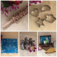 Used NEW Embossing Rolling Pin ++ in Dubai, UAE