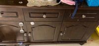 Used Buffet table with free mirror in Dubai, UAE