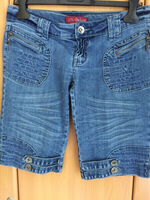 Used 1pc Ladies denim jeans & 1pc shorts in Dubai, UAE