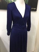 Dark blue evening dress for her