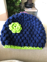 Handmade Crochet beanie Child 3-6