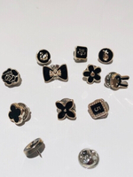 Used Cute Exposure Buttons Pins 10 pcs in Dubai, UAE