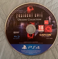 Used PS4 Resident Evil collection - No case in Dubai, UAE