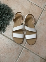 Used White sandals from Pull & Bear in Dubai, UAE