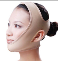Used 2 Pcs Face Thinning Bandage/ Nude/M in Dubai, UAE