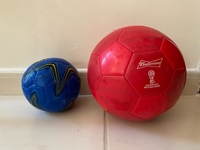 Used 1 Football + 1 Handball balls in Dubai, UAE