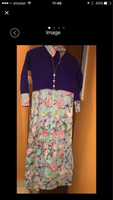 Used Silk kurti printed long sizeM in Dubai, UAE