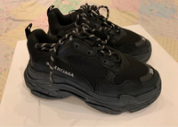 Used Authentic Balenciaga triple S black   in Dubai, UAE