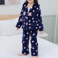 Used Flannel Kids Pyjama size 130 cm age 5-6 in Dubai, UAE
