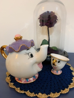 Used ,, Beauty and the Beast ,, teapot + cup in Dubai, UAE