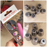Used NEW 13pc. Icing Piping Tips + Spice Pen in Dubai, UAE