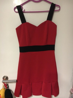 Used Dress for party(red short) in Dubai, UAE
