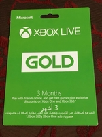 Used Xbox live gold  in Dubai, UAE