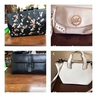 Used 4 items preloved bags in Dubai, UAE