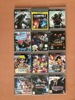 Used 12 PS3 games for playstation in Dubai, UAE