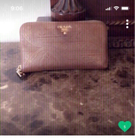 Used Prada wallet Authentic preloved  in Dubai, UAE