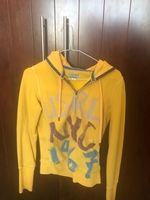 Used Hoodie yellow  in Dubai, UAE