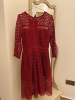 Used Red Under the Knee Dress in Dubai, UAE