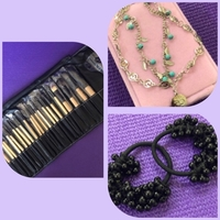 Used Anklet/ Hair Ties/ Make up Brush in Dubai, UAE
