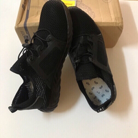 Used Breathable,protective black shoes size43 in Dubai, UAE
