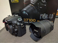 Used Nikon DSLR D7100 18-105 in Dubai, UAE