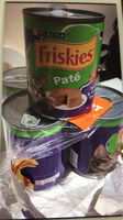 Used 5 can friskies just brought  in Dubai, UAE