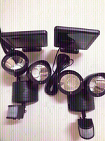 Solar security lamps 2 pieces