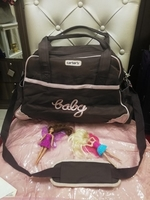 Used CARTER'S BABY BAG WITH TOYS AND POUCH... in Dubai, UAE