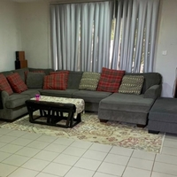 Used Grey L Couch 🛋 living room set in Dubai, UAE