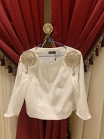 Used Top worn only once size M in Dubai, UAE