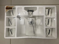 Used Brand New 7 Pcs Coffee Set in Dubai, UAE