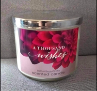 Used Bath And Body Works 3-Wick Candle in Dubai, UAE