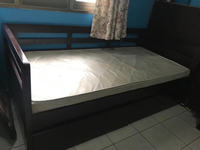 Used Children's bed with mattress  in Dubai, UAE