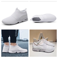 Used White sneakers size 46 in Dubai, UAE