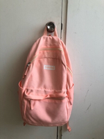 Used Pink school backpack in Dubai, UAE