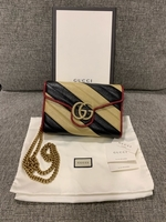Used Gucci Authentic New GG Marmont clutch  in Dubai, UAE