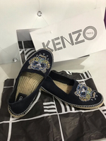 Authentic Kenzo Spadrille Canvas Shoes