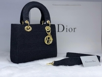 Used DIOR LADIES BAG FULL BLACK  in Dubai, UAE