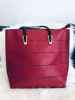 Used Fashion Red Large Shoulder Bag Like New in Dubai, UAE