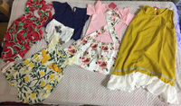 Used 19Baby dress 4babys sets 4top and pants in Dubai, UAE